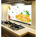 hesapli Duvar dekorasyonu-Yüksek kalite 1pc Kağıt Yağ Sızdırmaz Çıkartmalar Araçlar, Mutfak Temizlik malzemeleri