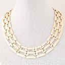preiswerte Damenuhren-Damen Halsketten / Ketten - Modisch Silber, Golden Modische Halsketten Schmuck Für Party, Alltag, Normal