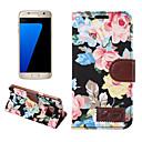 economico Custodie / cover per Galaxy serie S-Custodia Per Samsung Galaxy S7 edge / S7 A portafoglio / Porta-carte di credito / Con supporto Integrale Resistente pelle sintetica per S7 edge / S7 / S6 edge plus