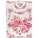 tanie iPhone 6s / 6 Plus: folie ochronne-Kılıf Na iPad Air 2 Etui na karty Z podpórką Pełne etui Kwiaty Skóra PU na iPad Air 2