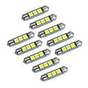 رخيصةأون أطقم المجوهرات-YouOKLight سيارة لمبات الضوء 1W SMD 5050 60lm LED أضواء الداخلية