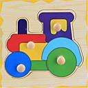 cheap Math Toys-Children's Educational Interest Trumpeter Catch Wooden Jigsaw