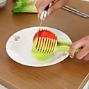 hesapli Meyve ve Sebze Araçları-1pc Mutfak aletleri Plastik Yaratıcı Mutfak Gadget Kesici ve Dilimleyici Sebze için