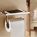 hesapli saatler-Tuvalet Kağıdı Tutacağı Çağdaş Paslanmaz Çelik 1 parça - Otel banyo