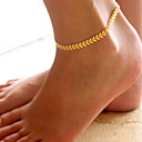 cheap Anklet-Anklet - Bohemian, Fashion, Boho Golden For Christmas Gifts / Daily / Casual / Women's