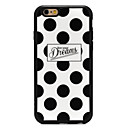 baratos Capinhas para iPhone-Capinha Para Apple iPhone 6 iPhone 6 Plus Estampada Capa traseira Estampa Geométrica Macia Silicone para iPhone 6s Plus iPhone 6s iPhone