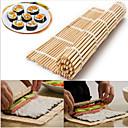 hesapli Pişirme Aletleri ve Kap-Kacaklar-Japon suşi haddeleme bambu mat el rulo diy maker