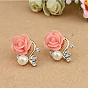 cheap Necklaces-Women's Stud Earrings - Resin White / Pink For Daily Casual