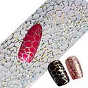 cheap Makeup & Nail Care-100x4cm Latest Glitter Nail Art Full Tips Wraps DIY Cobweb Sexy Nail Foils Transfer Polish Adhesive Sticker Nail Decals