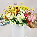 Χαμηλού Κόστους Εργαλεία για τσάι-Ψεύτικα λουλούδια 1 Κλαδί Μοντέρνο Στυλ Μαργαρίτες Λουλούδι για Τραπέζι