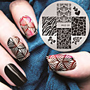 cheap Makeup & Nail Care-2016 latest version fashion pattern nail art stamping image template plates