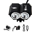 hesapli Bisiklet Işıkları-Kafa Lambaları / Bisiklet Işıkları LED 3000 lm 4.0 Işıtma Modu Pil ve Şarj Aleti ile Su Geçirmez / Şarj Edilebilir / Acil Bisiklete biniciliği