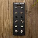 preiswerte Ohrringe-Damen Ohrring Ohrringe Set - Modisch 1 # / 2 # / 3 # Für Alltag Normal / 12 Stück