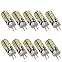 preiswerte LED Doppel-Pin Leuchten-10 Stück 2 W 200 lm G4 LED Doppel-Pin Leuchten T 24 LED-Perlen SMD 2835 Dekorativ Warmes Weiß / Kühles Weiß 12 V / RoHs