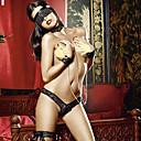 ieftine Moda Lolita-Pentru femei Costume Moș Uniforme Mai multe costume Uniforme sexy Sex Costume Cosplay Bloc Culoare Cercel