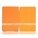 preiswerte iPad Hüllen / Cover-Hülle Für Apple mit Halterung / Automatischer Ruhe / Aktivmodus / Origami Ganzkörper-Gehäuse Solide PU-Leder für iPad Mini 4