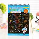 Недорогие Записные книжки и стикеры-Милый стиль-Креативные ноутбуки-Бумага