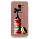baratos Capinhas para Galaxy Série J-Capinha Para Samsung Galaxy Samsung Galaxy Capinhas Transparente Estampada Capa traseira Desenho Animado TPU para A5(2016) A3(2016)