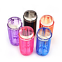 voordelige Nagelstempels-snoep kleur 2.8cm heldere gelei silicone nail art stamper schraper kit polish ontwerp druk stempelen nagel gereedschappen