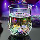 hesapli Yenilikçi LED Işıklar-Led flaş ışığı viski shot içki cam bardak yanıp sönen bira bar parti düğün kulübü dekorasyon hediye