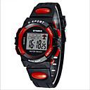baratos Pulseiras-SYNOKE Relogio digital / Relógio de Pulso / Relógio Esportivo Alarme / Calendário / Cronógrafo PU Banda Preta / Azul / Verde