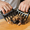 cheap Kitchen Utensils & Gadgets-2pcs Bear Paws Claws Meat Fork Tongs Pull Shred Pork BBQ Tool