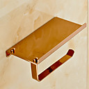 cheap Kids At Home-Toilet Paper Holder Contemporary Brass 1 pc - Hotel bath
