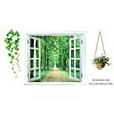 baratos Artigos para Casa-Autocolantes de Parede Decorativos - Autocolantes 3D para Parede Paisagem / Vida Imóvel / Moda Sala de Estar / Quarto / Banheiro