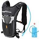 Buy Bike Bag 4LHydration Pack & Water Bladder Backpack Waterproof Wearable Shockproof Multifunctional Bicycle BagCloth PVC Terylene 600D