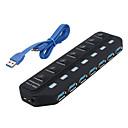 hesapli USB Hubs ve Switchleri-Ayrı anahtarı ile usb 3.0 7 portları / arayüz USB hub 15.8 * 45 * 2
