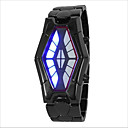 ieftine Ceasuri Bărbați-Bărbați Pentru femei Pentru cupluri Ceas de Mână Digital Negru / Argint 30 m Rezistent la Apă Creative LED Piloane de Menținut Carnea Modă Unic Watch Creative - Argintiu Negru / Roșu Negru și Albastru