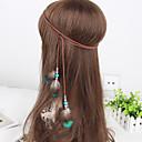 preiswerte Haarschmuck-Damen Elegant, Feder / Stoff Stirnband