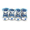 hesapli Köpek Giyim ve Aksesuarları-Köpek Ayakkabılar ve Botlar Turuncu Kırmzı Yeşil Mavi Evcil hayvanlar için