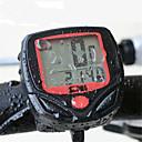 hesapli Dekorasyon Etiketleri-Bisiklet Bilgisayarı LED Işıklar, Su Geçirmez, Kablosuz Katlanır bisiklet / Yol Bisikleti / Dağ Bisikleti Sentetik Kırmzı - 1pcs