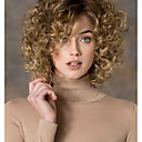 ieftine Machiaj & Îngrijire Unghii-Peruci Sintetice Buclat Stil Partea laterală Fără calotă Perucă Blond Blond Păr Sintetic Pentru femei Modă Blond Perucă Scurt StrongBeauty Perucă Naturală