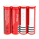 cheap DIY Parts and Tools-18650 Battery Rechargeable Lithium-ion Battery 4200.0 mAh 4pcs Rechargeable for Camping/Hiking/Caving