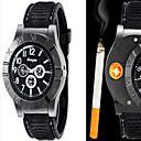 Недорогие Кольца-Муж. Кварцевый Наручные часы сплав Группа На каждый день / Мода Черный / Коричневый