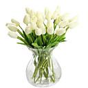 tanie Akcesoria do domu i dla zwierząt-Sztuczne Kwiaty 1 Gałąź Styl nowoczesny Tulipany Bukiety na stół
