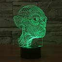 tanie Poduszki-1 szt. 3D Nightlight USB Dekoracyjna 5V