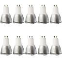 abordables Ampoules Globe LED-5W 400-450 lm GU10 Spot LED MR16 1 diodes électroluminescentes COB Intensité Réglable Décorative Blanc Chaud Blanc Froid AC 110-130V CA