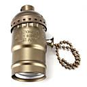 hesapli Lamba Tabanları-1pc E27 Ampul Bağlantısı Aluminyum