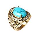 ieftine Inele-Pentru femei Band Ring Turcoaz Modă Inele la Modă Bijuterii Rosu / Verde / Albastru Pentru Zilnic Casual 7 / 8 / 9 / 10