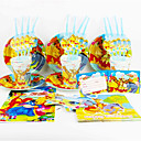 cheap Home Decoration-Winnie the Pooh 92pcs Birthday Party Decorations Kids Evnent Party Supplies Party Decoration 12 People use