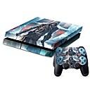 hesapli PS4 Aksesuarları-B-SKIN Çıkarmalar Uyumluluk PS4 ,  Çıkarmalar PVC 1 pcs birim