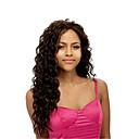 Χαμηλού Κόστους Μακιγιάζ και περιποίηση νυχιών-Συνθετικές Περούκες Σγουρά Συνθετικά μαλλιά Πλευρικό μέρος Καφέ Περούκα Γυναικεία Μακρύ