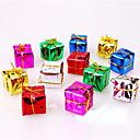 hesapli Ev Dekore Etme-12pcs christmas dekorasyon hediyeler rol ofing yılbaşı ağacı süsleri yılbaşı hediyesi renk rastgele