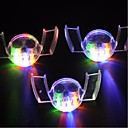 tanie Etui / Pokrowce do Motoroli-3 elementy Noc LED Light Wodoodporne LED