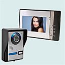 ieftine Becuri LED Corn-Wireless Sonerie video multifamilială 7 inch Portabil 30 Pixel Interfon video 1 la 4