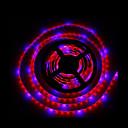 hesapli LED Şerit Işıklar-5m smd5050 4red1blue 300led ip65 topraksız sistemleri led bitki ışık büyümek su geçirmez led büyümek şerit ışık (dc12v)