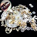 رخيصةأون أدوات & أجهزة المطبخ-1 pcs مجوهرات الأظافر فن الأظافر تجميل الأظافر والقدمين يوميا بانغك / موضة / مجوهلرات الأظافر / سبيكة